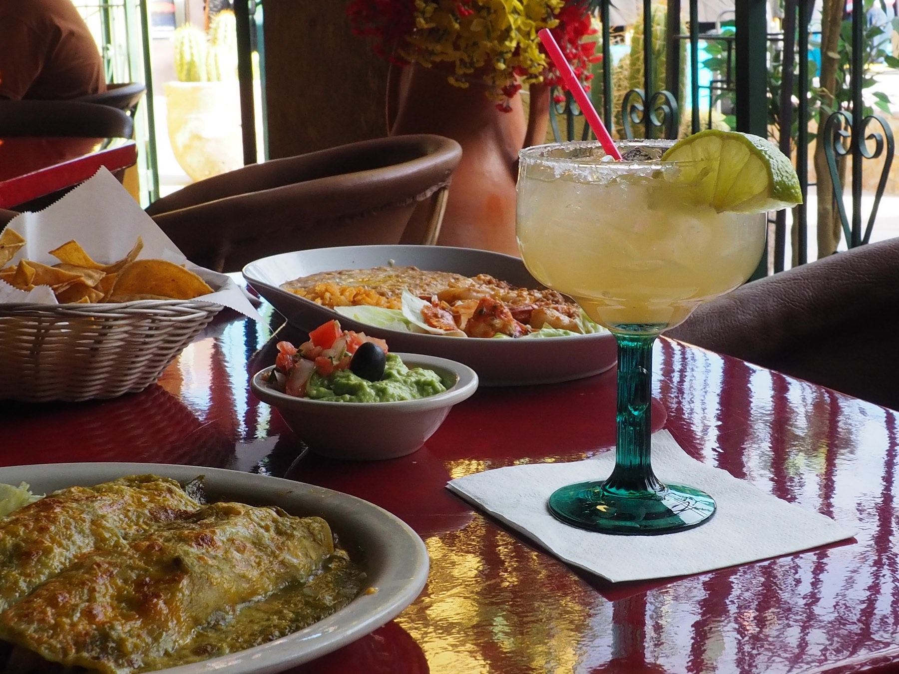 Margarita and Mexican Food at Pablito's Restaurant