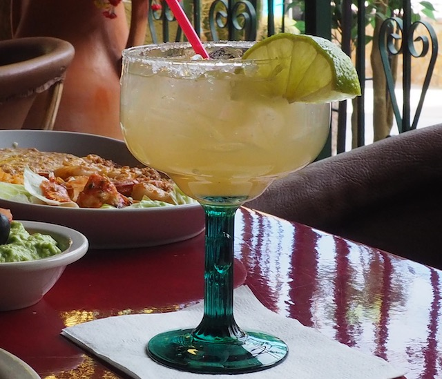 Lime Margarita (glass)
