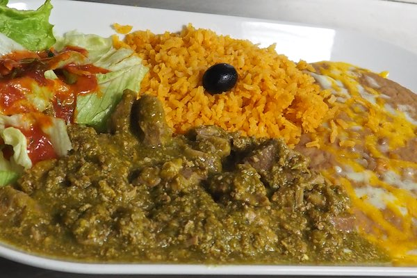 Chile Verde (spicy)