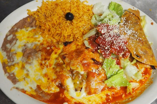 # 8 - Beef Taco, Chile Relleno