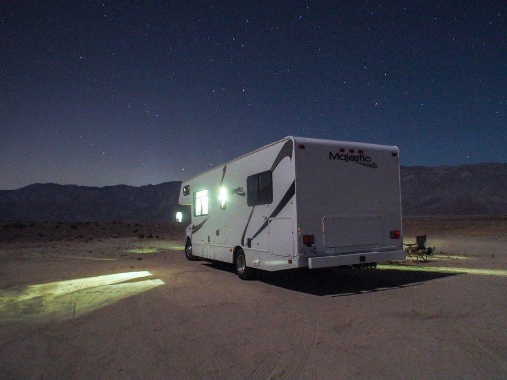 Borrego Springs RV camping