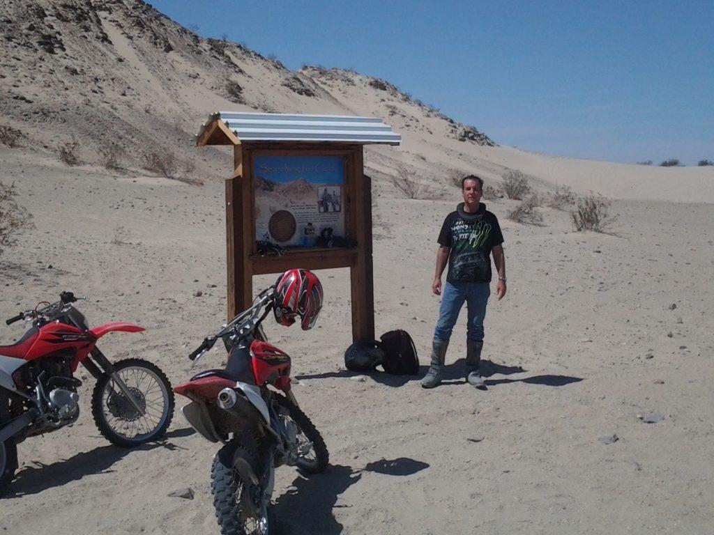Riding Dirt Bikes at Ocotillo Wells