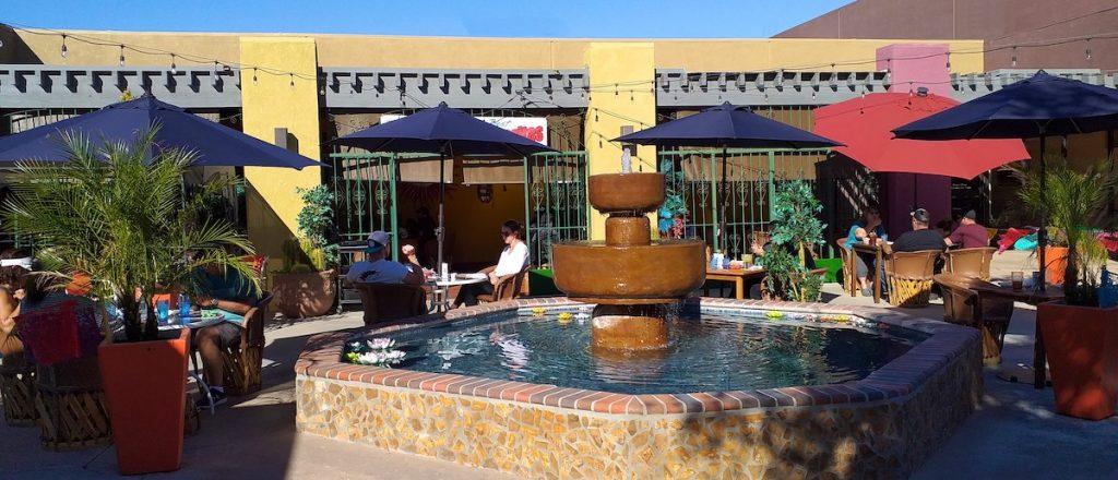 Pablitos Restaurant Outdoor Patio Dining